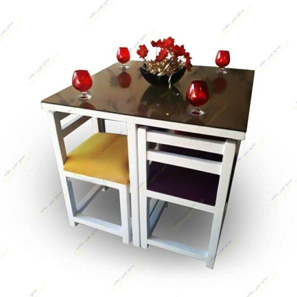 میز کمجا مربع