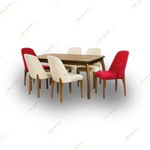 میز ناهار خوری و صندلی بوگاتی