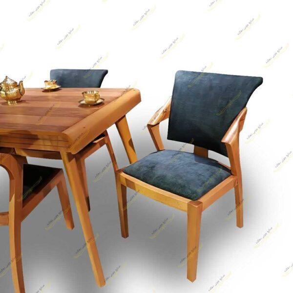 Photo 1611405560939 600x600 - میز ناهار خوری پارادایس با صندلی پیچک