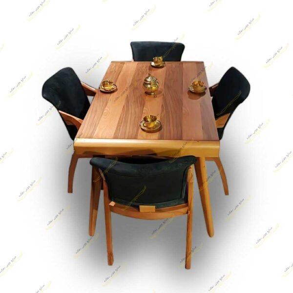 Photo 1611405561940 600x600 - میز ناهار خوری پارادایس با صندلی پیچک
