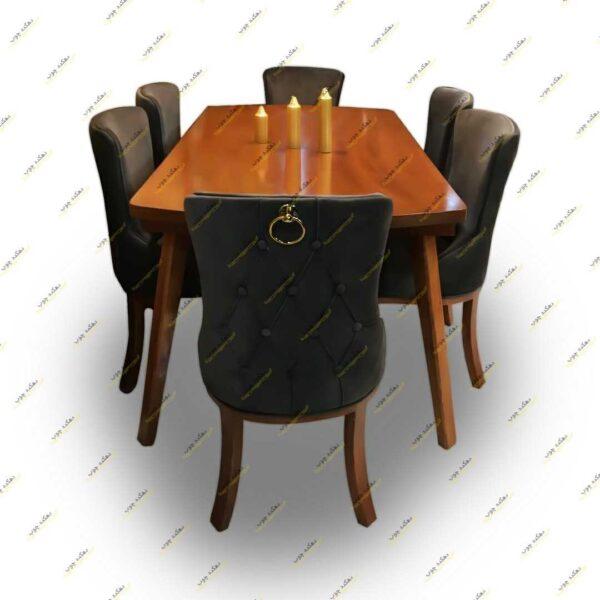 میز ناهار خوری چستر پشت حلقه ای