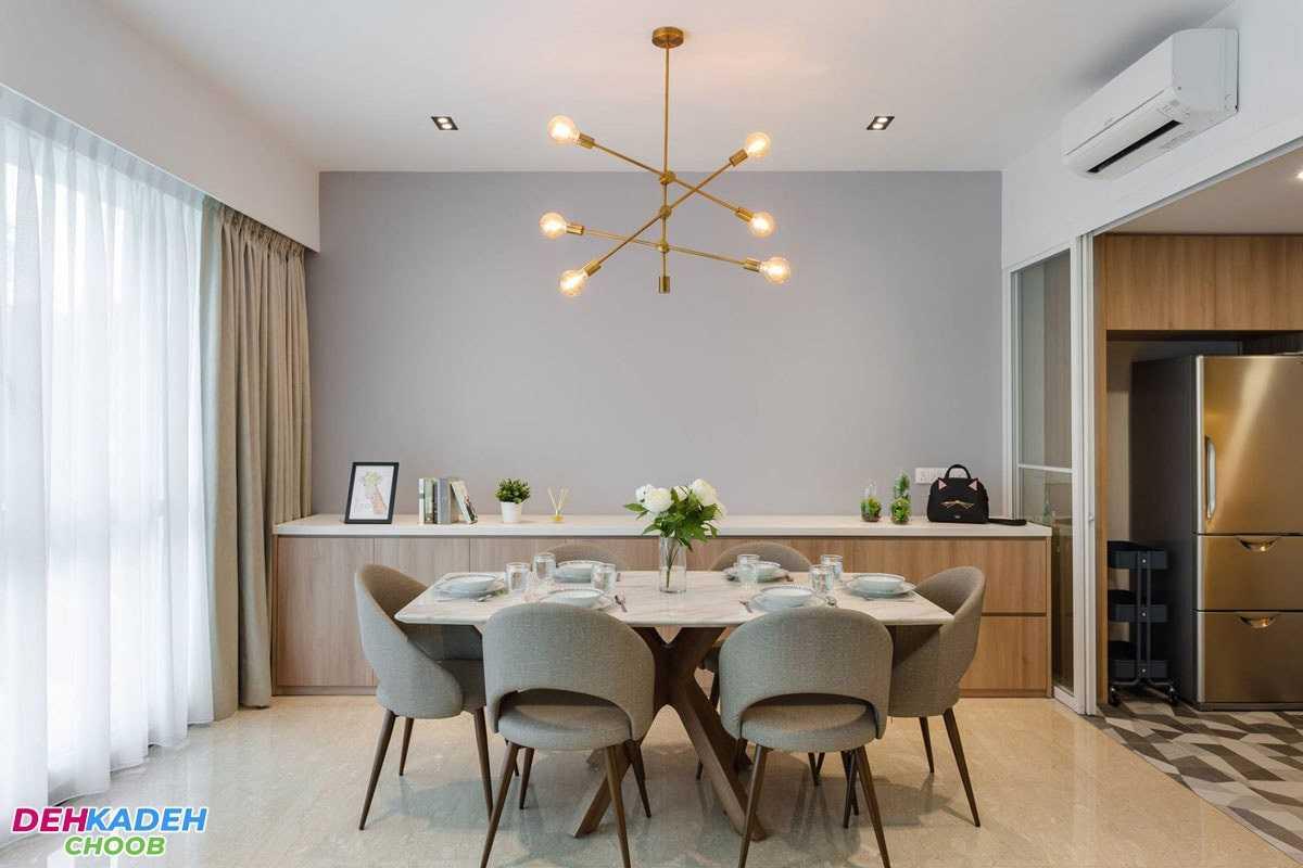 A variety of dining table models - هر آنچه که باید به عنوان راهنمای خرید میز ناهار خوری بدانید