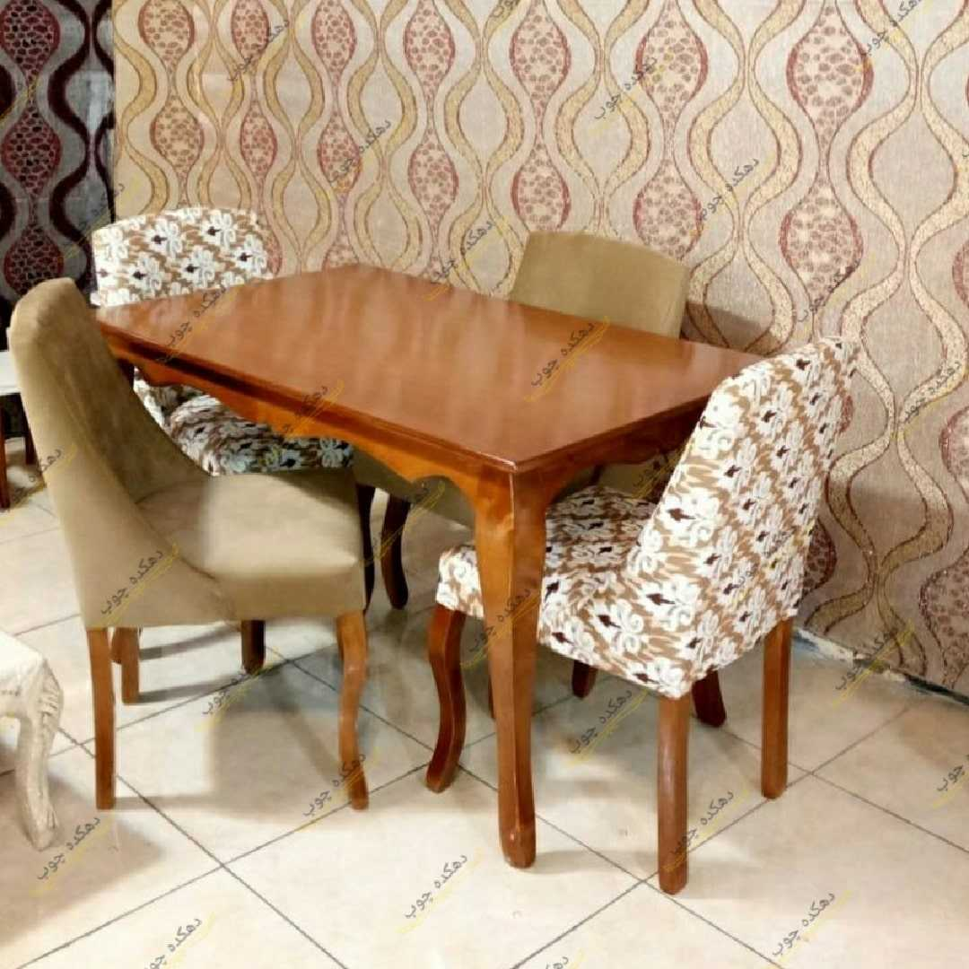 Dining table Mahan table model with merinos chair-min