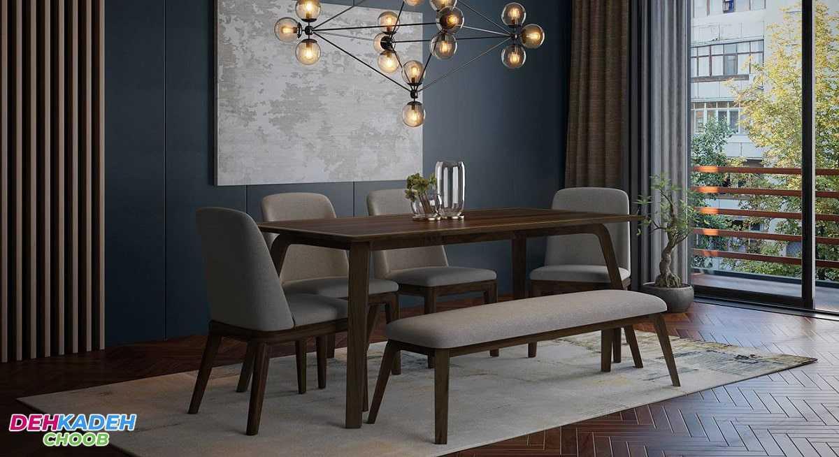 Dining table with bench - هر آنچه که باید به عنوان راهنمای خرید میز ناهار خوری بدانید