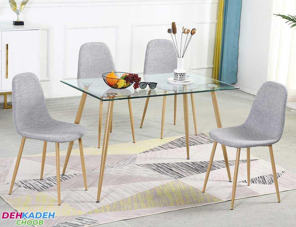 Glass dining table - نکات و راهنمای خرید میز ناهار خوری