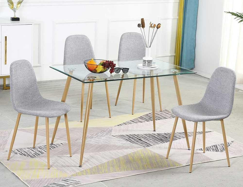 Guide to buying a glass dining table min - نکات و راهنمای خرید میز ناهار خوری