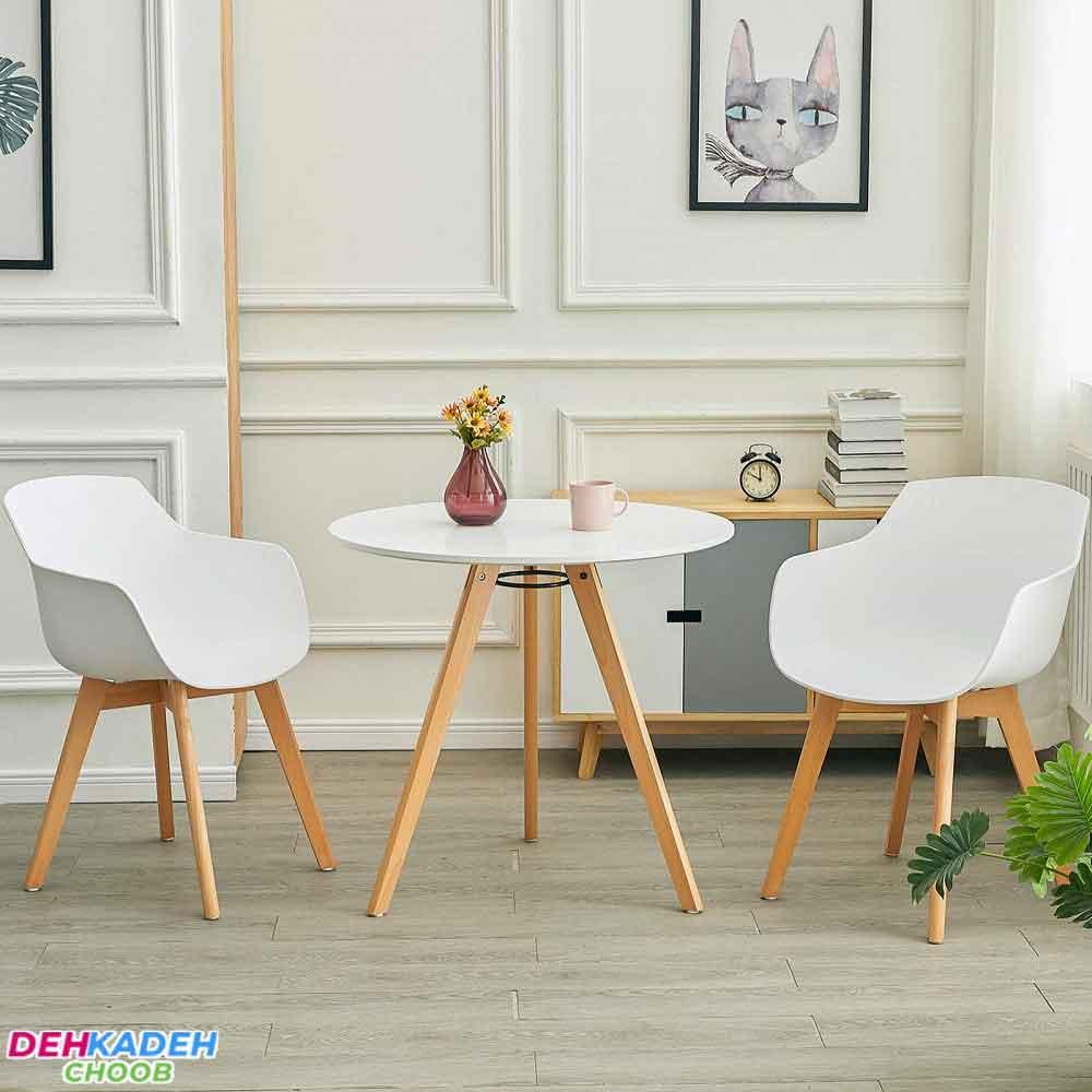 Modern small dining table - میز ناهار خوری کوچک – میز ناهار خوری کم جا – میز ناهار خوری نقلی