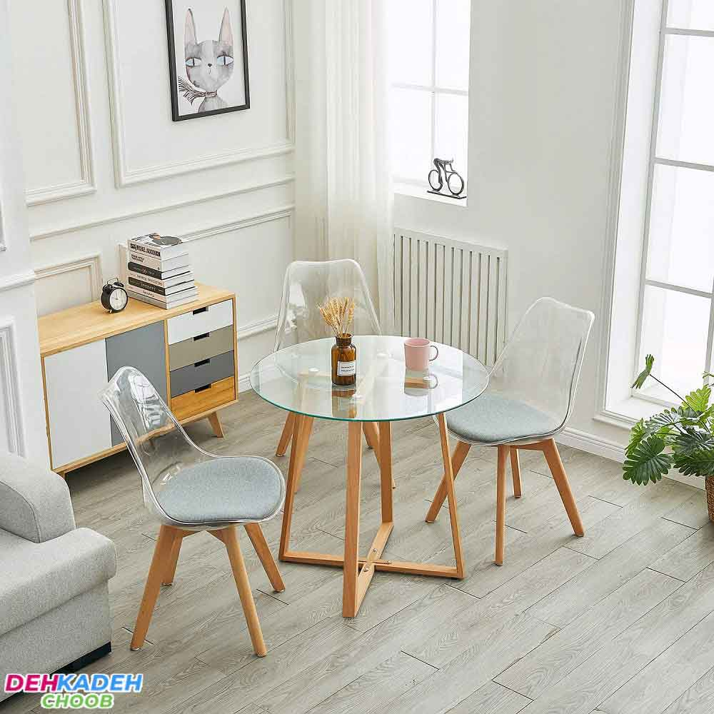 Required space for a small dining table - میز ناهار خوری کوچک – میز ناهار خوری کم جا – میز ناهار خوری نقلی