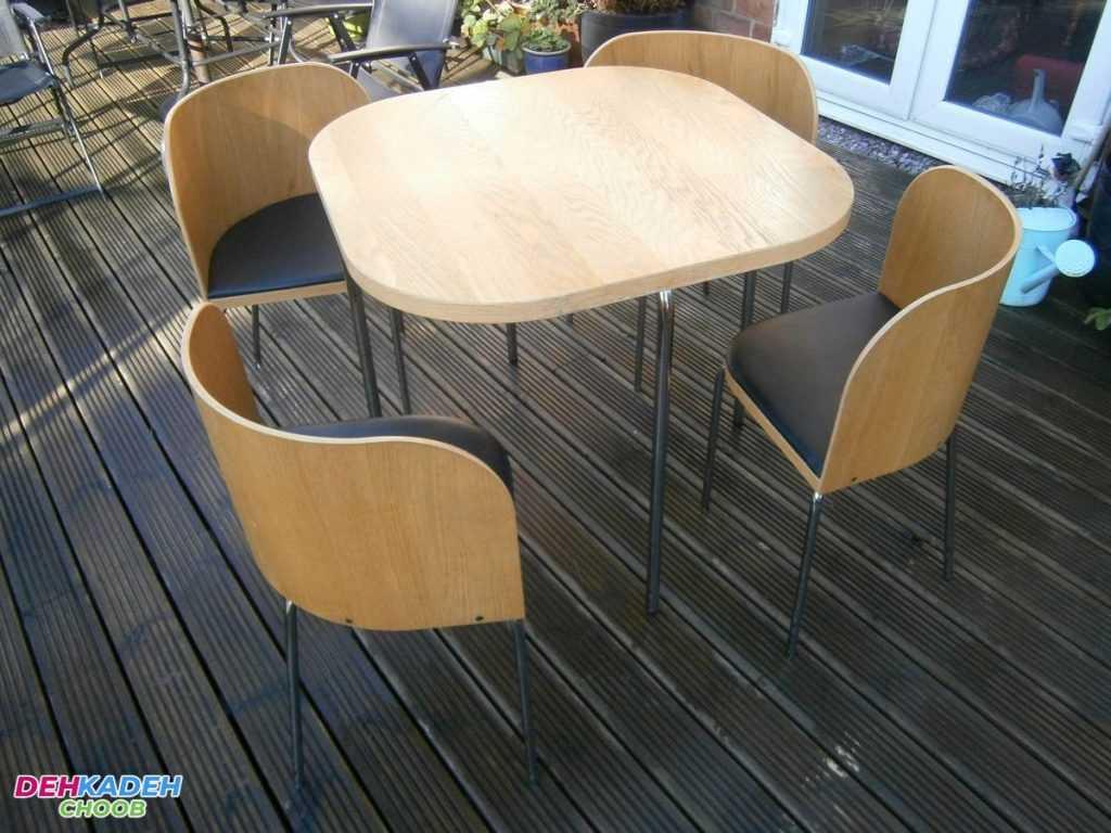 میز نهارخوری کوچک – میز نهارخوری کم جا – میز نهارخوری نقلی