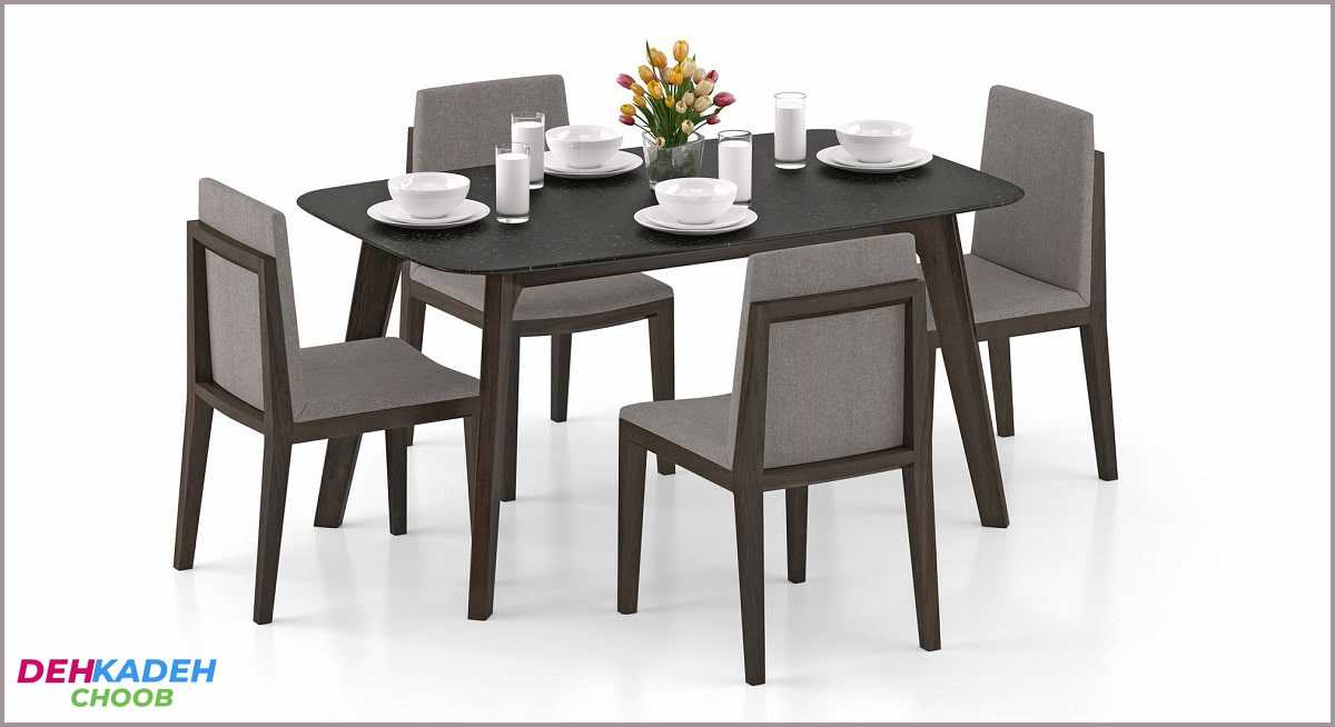 Small and compact dining table 3 min - میز ناهار خوری کوچک – میز ناهار خوری کم جا – میز ناهار خوری نقلی