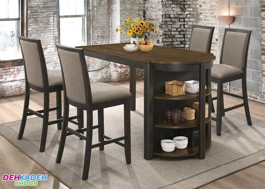 Small and compact dining table 4 min - میز ناهار خوری کوچک – میز ناهار خوری کم جا – میز ناهار خوری نقلی