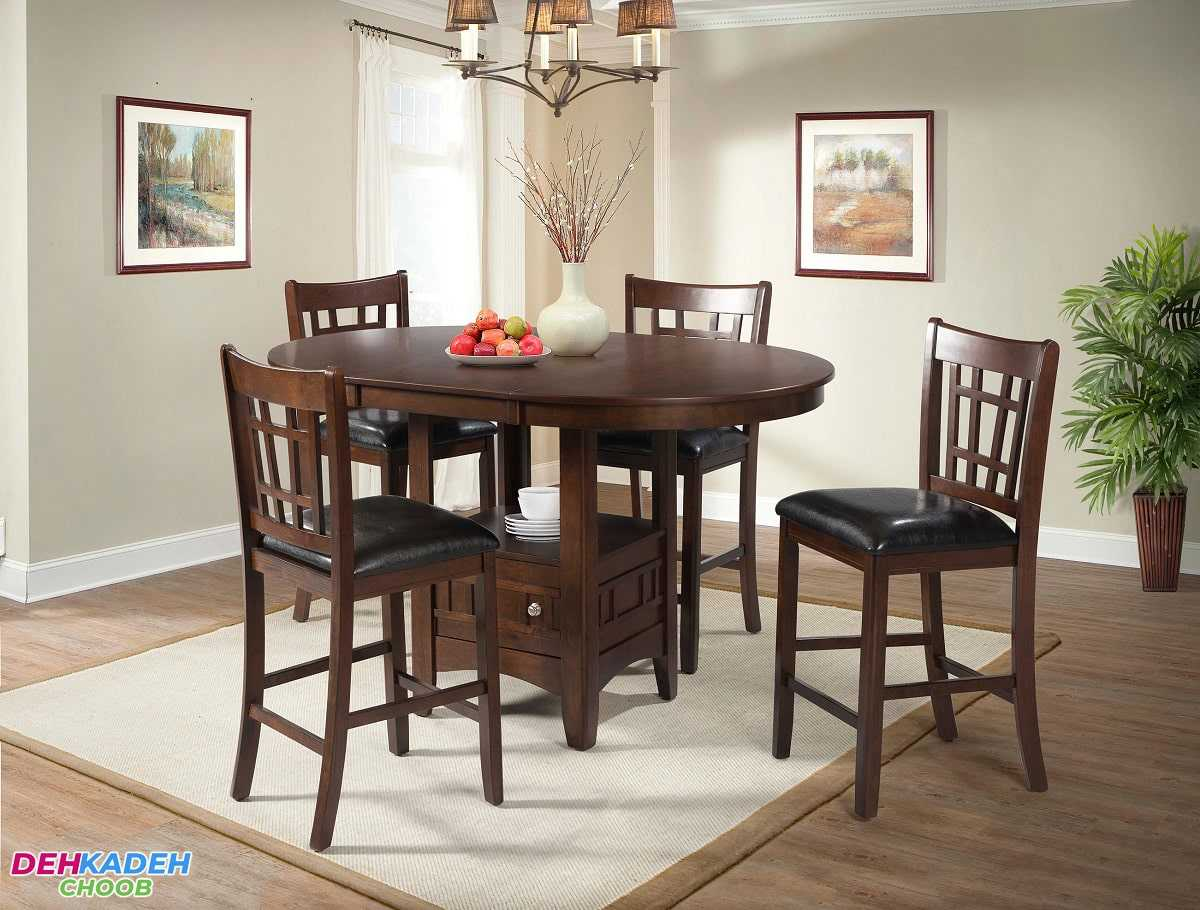 Small and compact dining table 5 min - میز ناهار خوری کوچک – میز ناهار خوری کم جا – میز ناهار خوری نقلی