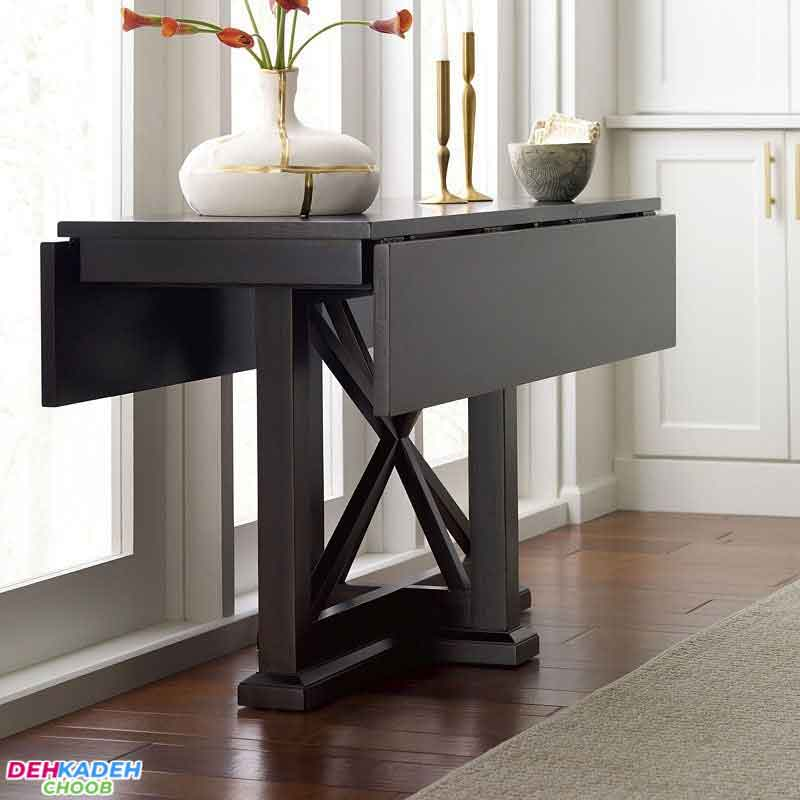 Small conversion dining table - میز ناهار خوری کوچک – میز ناهار خوری کم جا – میز ناهار خوری نقلی