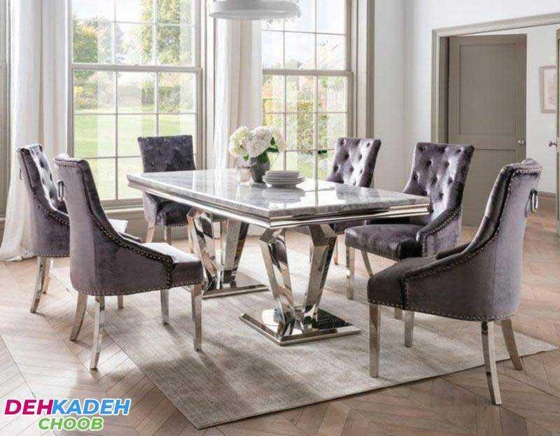 Tips for buying a dining table - نکات و راهنمای خرید میز ناهار خوری