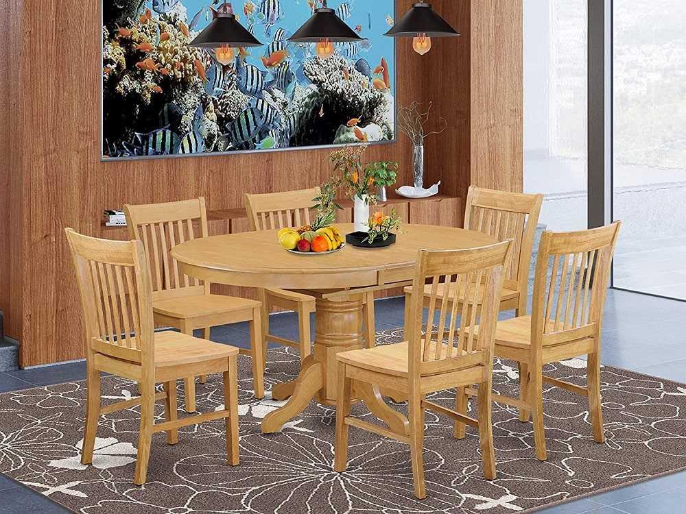Wooden dining table for 6 people min - نکات و راهنمای خرید میز ناهار خوری
