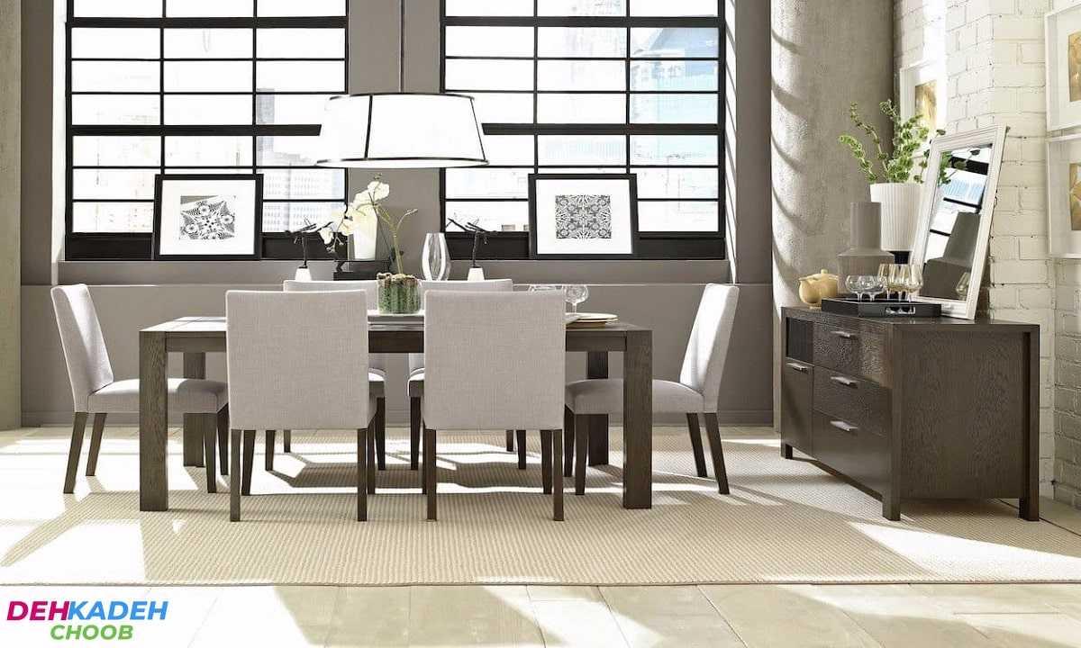 Choose a royal dining table min - میز ناهارخوری شیک