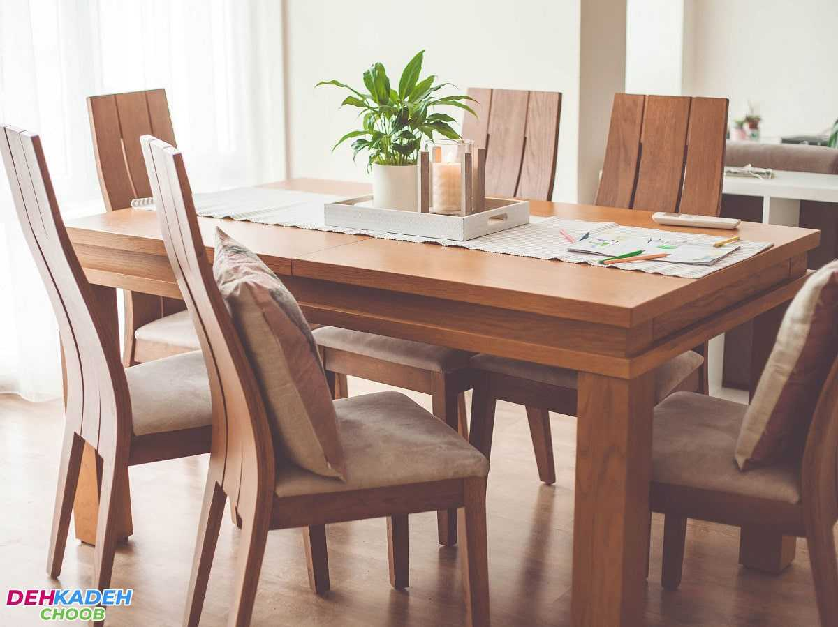 Types of dining tables 2 min 2 - انواع میز ناهارخوری – میز ناهارخوری 4 ، 6 و 8 نفره