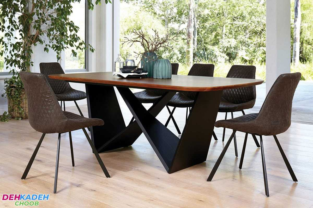 Types of dining tables 3 min 1 - انواع میز ناهارخوری – میز ناهارخوری 4 ، 6 و 8 نفره