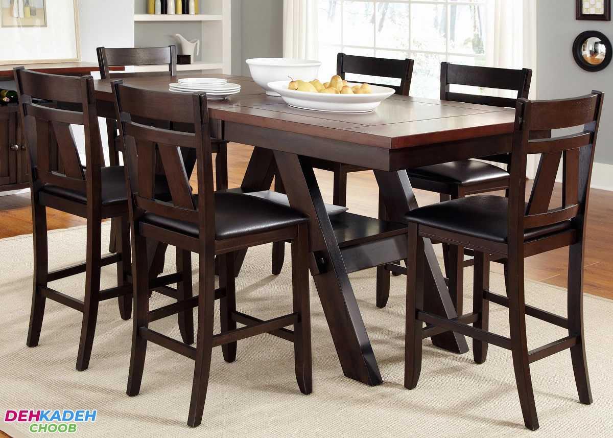 انواع میز نهارخوری – میز نهارخوری 4 ، 6 و 8 نفره