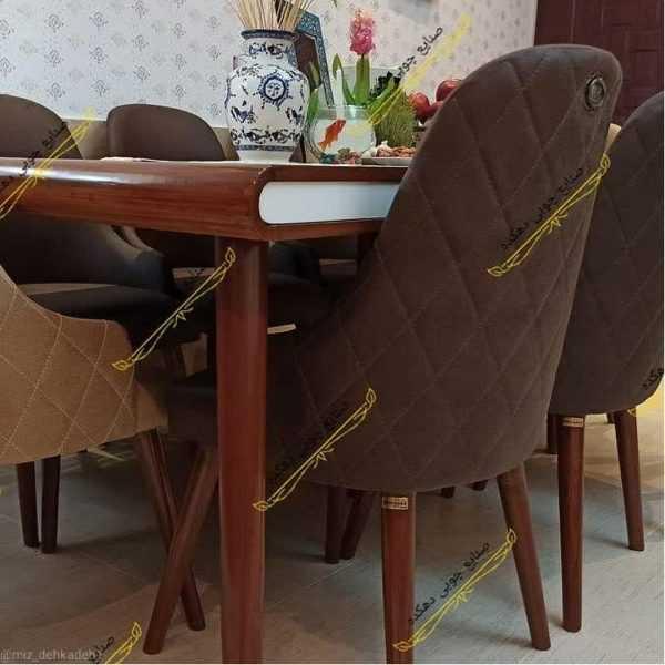IMG ۱۵۰۴۲۰۲۱ ۲۱۰۴۳۶ 1080 x 1080 pixel 600x600 - میز ناهار خوری کارن