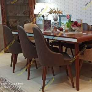 IMG ۱۵۰۴۲۰۲۱ ۲۱۰۵۰۴ 1080 x 1080 pixel 300x300 - میز ناهار خوری کارن