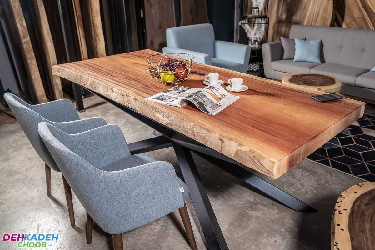 It is a sofa and a dining table 4 min - مبل و میز ناهارخوری ست