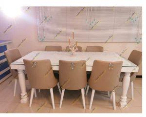 میز لوگان با صندلی نیو درسا