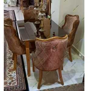 میز عصایی با صندلی فلامینگو