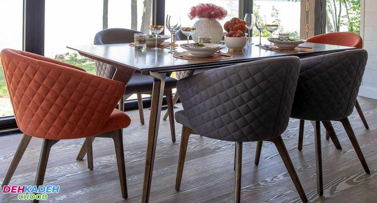 Informal and comfortable dining tables min - بهترین مدل میز های ناهار خوری در سال 2021