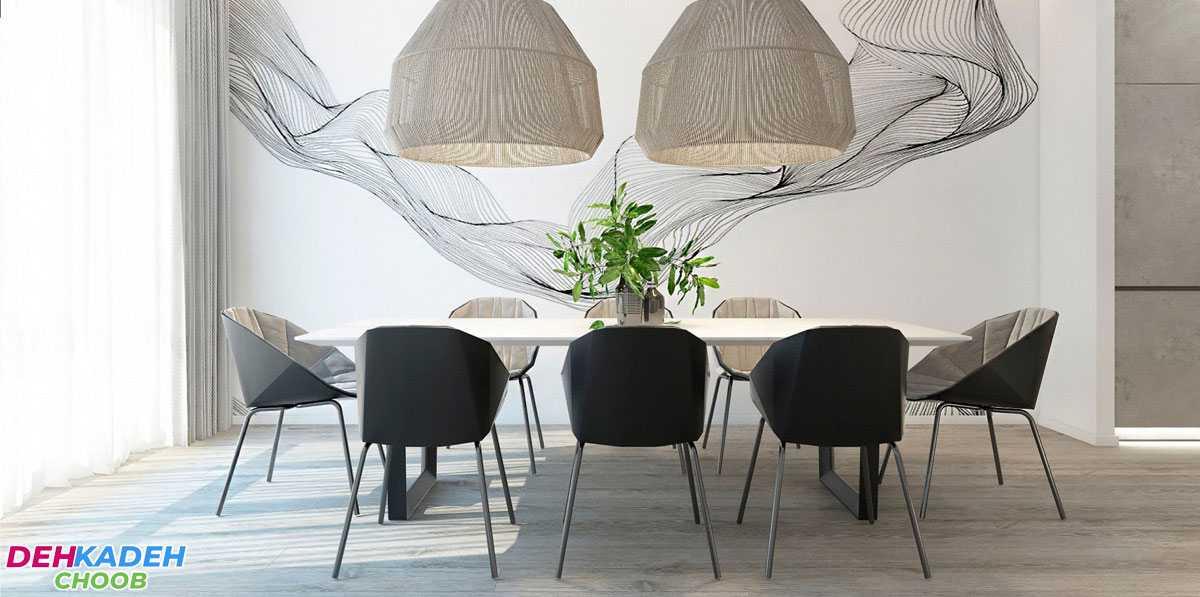 Modern style dining table furniture min - بهترین مدل میز های ناهار خوری در سال 2021