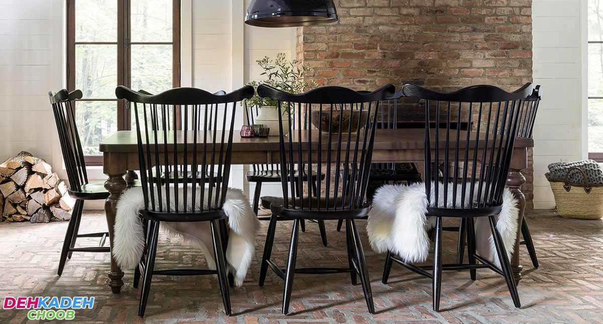 Nature inspired dining table min - بهترین مدل میز های ناهار خوری در سال 2021