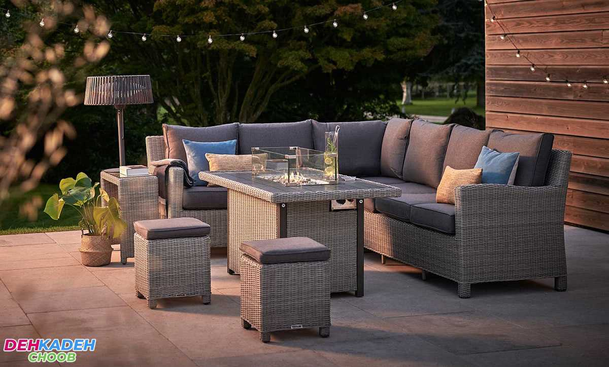 Outdoor dining tables min - بهترین مدل میز های ناهار خوری در سال 2021