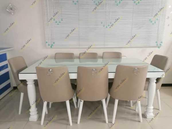 Photo 1620492125372 600x450 - میز ناهارخوری لوگان با صندلی نیو درسا