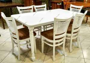 Photo 1622804270867 300x210 - میز ناهار خوری چوبی مدل شکوفه