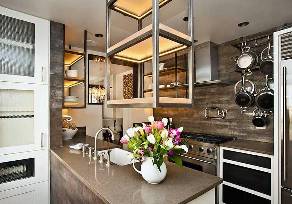 Small kitchen design ideas 5 min - دکوراسیون آشپزخانه کوچک
