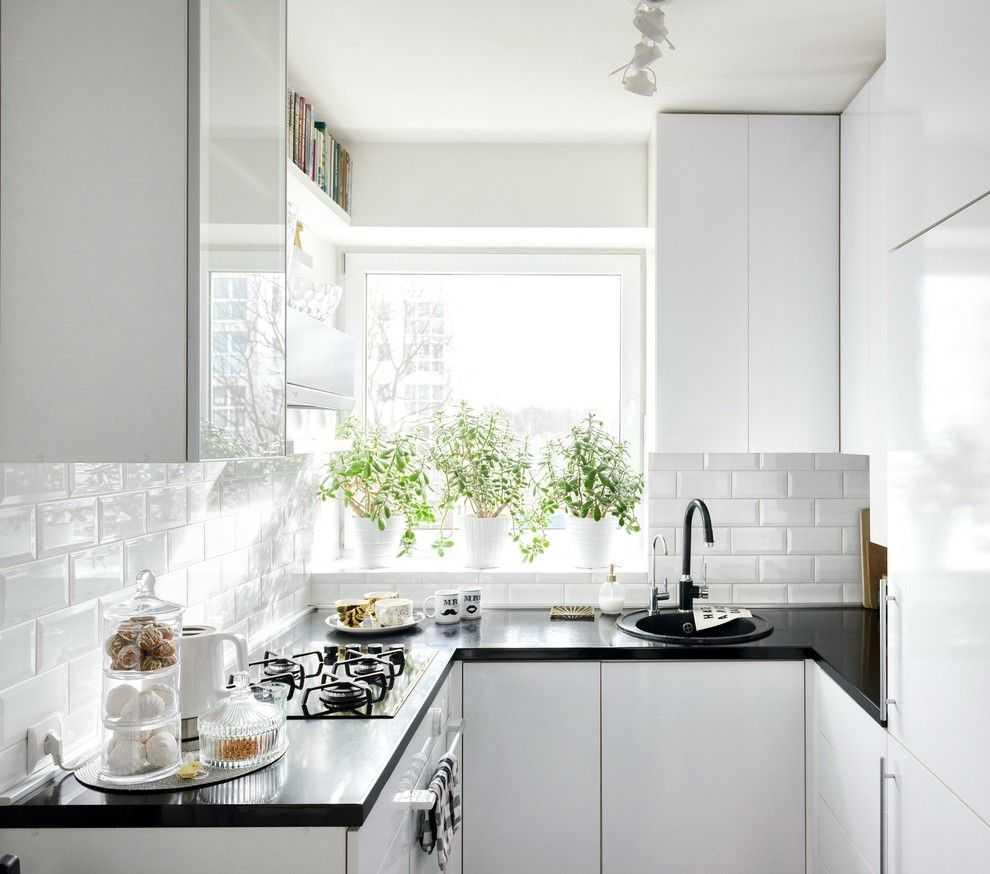 Small kitchen layout ideas - دکوراسیون آشپزخانه کوچک