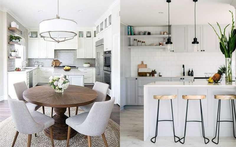 Small kitchen table decoration - دکوراسیون آشپزخانه کوچک