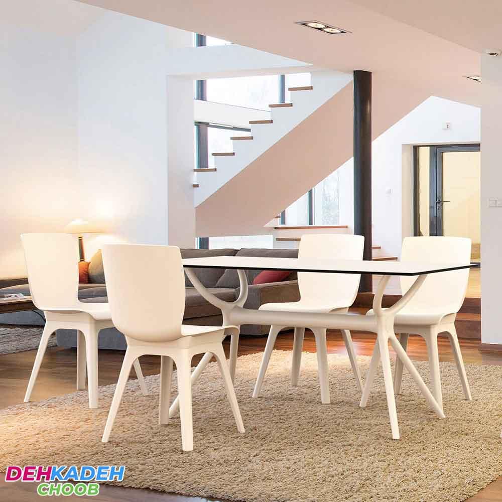 میز و صندلی ناهارخوری مدرن