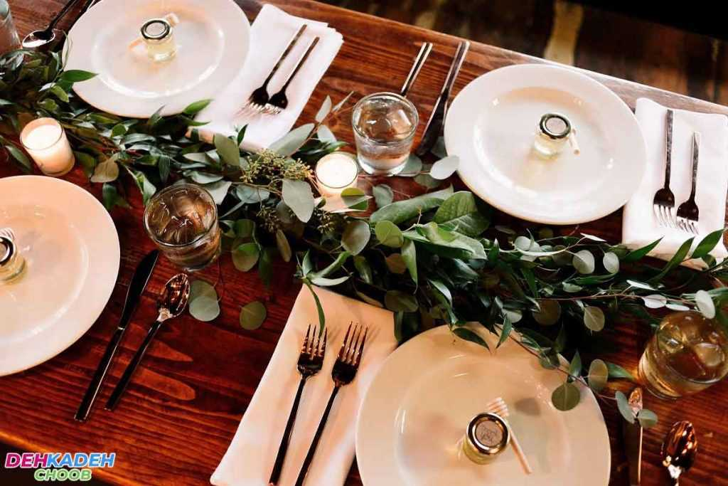 Important points in decorating the dining table 1024x683 - تزیین میز ناهار خوری