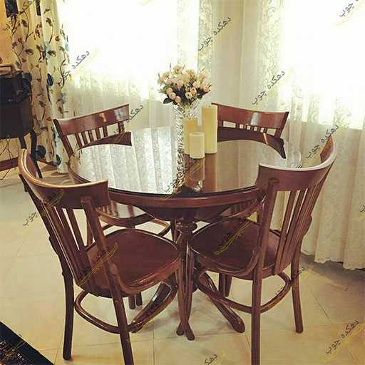 تزئین میز ناهار خوری مدل لهستانی