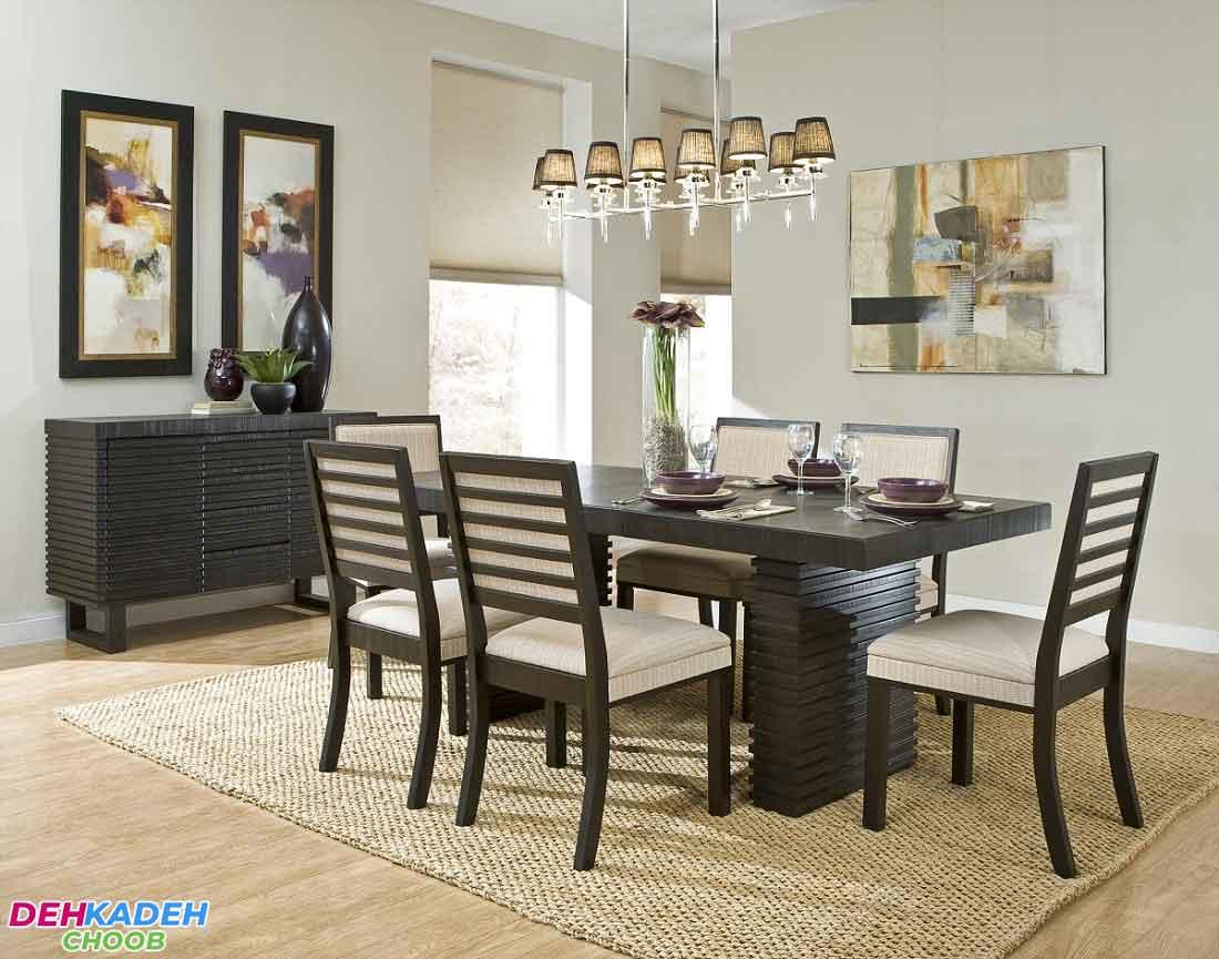 The best color for dining room decoration 4 - بهترین رنگ برای دکوراسیون اتاق ناهارخوری