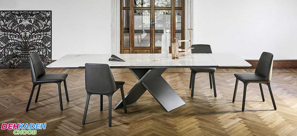 Advantages and disadvantages of different types of dining tables 3 - مزایا و معایب انواع میز ناهارخوری